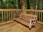 LINGER LONGER #1607- Porch Swing