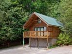 Zen Garden #1523- Outside View of the Cabin