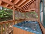 Zen Garden #1523- Hot Tub on the Deck
