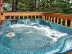 Wild Thing #1525- Hot Tub on the Deck