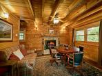 Rainbow Ridge 4 Seasons #265- Living Room with Fireplace