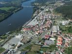 Aerial View of Vila Nova de Cerveira