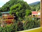 depuis Talipo vue sur Pitaya et la villa