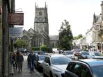 12mins to attractive Tavistock with great shops and a pannier market dating back to the 12th century