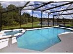 Enjoy Orlando Sunshine inside Screened and Heated Pool...