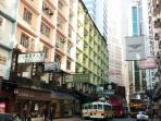 Superb neighborhood in Causeway Bay close to the shops, restaurants and transport