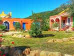 In villa with garden,sea view Kia apartment