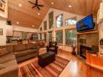 New Cabin in Evergreen Valley!  3BR/Loft + Bonus | WiFi | Fall-Winter Special