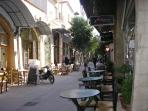Streets of Chania, Coffee Bars and Restaurants, Steeped in antiquity.