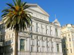 For Opera lovers visit the Opera houses in Nice and Monaco. Usual music seasons, not in the summer