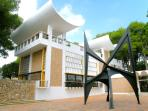 The Foundation Maeght Art gallery and Sculpture garden, St. Paul de Vence and village worth visiting