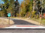The Gitche-Gami bike trail is 1/4 a mile away, ride for miles on an asphalt path with fabulous views