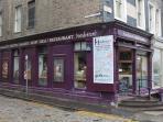 Henderson's Deli, corner Thistle / Hanover Street.