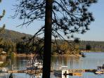 Big Bear Marina & Lake Sunrise view from Front Deck