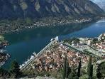 Kotor view from mountain