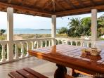 terrace of our villas with sea view