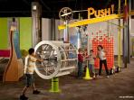 Discovery Zone kids museum.