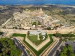 A stunning photo of the Medieval city of Mdina.