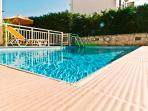 Helidonia Villas, KIMON: swimming pool with sea view