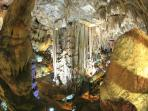 Visit the fantastic cave system in nearby Nerja