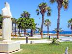 'Molos' Limassol Promenade & Sculpture park by the sea