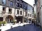 The famouse Pottery town of Limoges is only 80 Kms Away