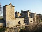 The Chateau de Couches - just 4 km away - an impressive local feature that offers guided tours