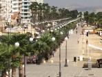 Phinikoudes Promenade & Beach