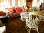 Large family room to gather with loved ones.