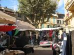 Markets are held in Vence daily for local produce   and weekly for antiques and other products