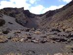 Walking in Volcanos