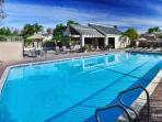 Enjoy access to our gated community Pool & Spa.