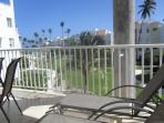 Loung on your terrace with ocean view and breezes