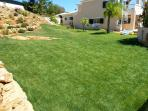 large grassed area