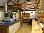 Farm House KItchen At Xmas