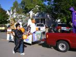 The annual Fall Festival features a really fun parade.