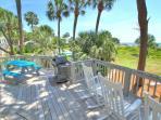 1st Floor Patio & Grilling Area Overlooking the ocean