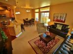 Open concept and inviting