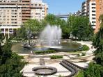 City center - artesian fountain