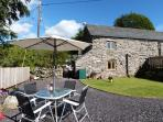 Lovely garden to relax and enjoy the calming countryside views
