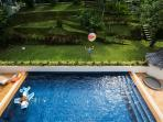 Garden & Swimming pool