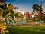 Portmeirion Italianate Village, 11 miles from your cottage