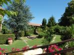 Italian garden Villa la Paiola