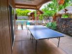 Ping Pong by the pool!