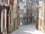 The beautiful medieval old town, Le Mans