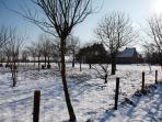 winterzicht boerderij