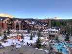 Resort outdoor pools