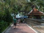Private Key access to Jomtien Beach 100 meters from apartment