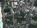 Local Map of Surin Beach and our Villa