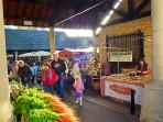 Stroud Farmers Market, every Saturday morning - the best in the UK - Multi Award Winning!